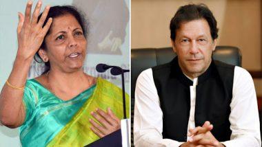 Nirmala Sitharaman Doubts Imran Khan's Promise Post Pulwama Strike, Asks What Steps Pakistan Took After India Sent Dossiers on 26/11 Mumbai Terror Attacks