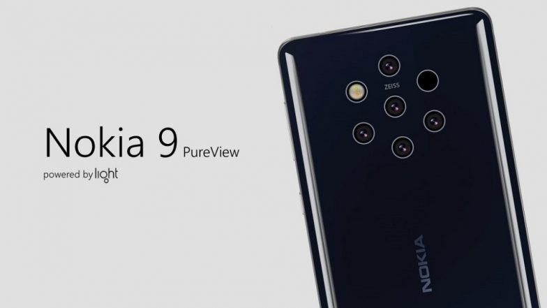 Nokia 9 PureView Specification Leak Reveals Massive 64MP Resolution Penta-Camera; to Be Launched on February 24 at MWC 2019