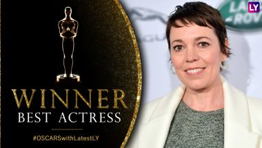 Oscars 2019 Best Actress Winner: Olivia Colman Wins the Trophy for the Favourite at 91st Academy Awards