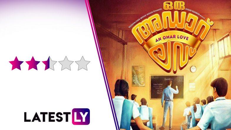Oru Adaar Love Movie Review: Even Priya Prakash Varrier's Wink Cannot Save This Film That Calls Itself An Ultimate Love Story!