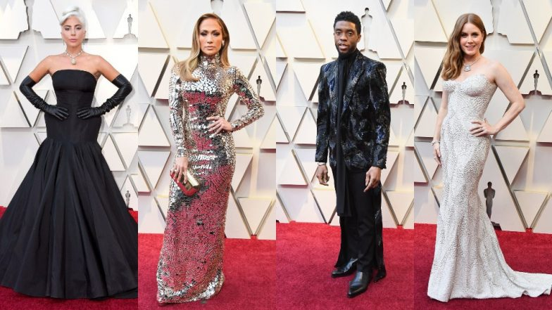 Oscars 2019 Best Dressed Celebs: Lady Gaga, Jennifer Lopez, Chadwick Boseman, Amy Adams With Their Fabulous Looks LIT Up The Academy Awards Red Carpet! [View Pics]