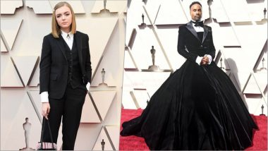 Oscars 2019 Red Carpet Pics: Celebrities Embrace Androgyny in Fashion at 91st Academy Awards