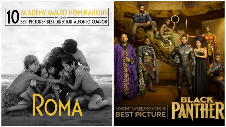 Oscars 2019: Roma, Black Panther and Other Films That Received Multiple Nominations