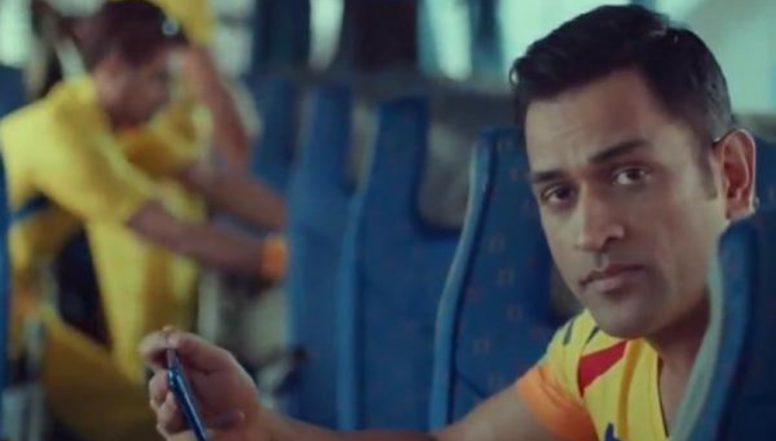 IPL 2019: MS Dhoni Gives a Befitting Reply to Rishabh Pant's Challenge (Watch Video)