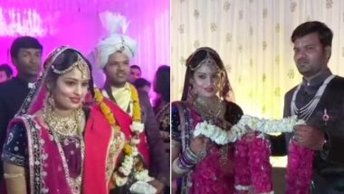 PM Modi's Tweet Brought This Couple Together From Across Borders! Sri Lankan Bride Meets Soulmate in India Through Twitter