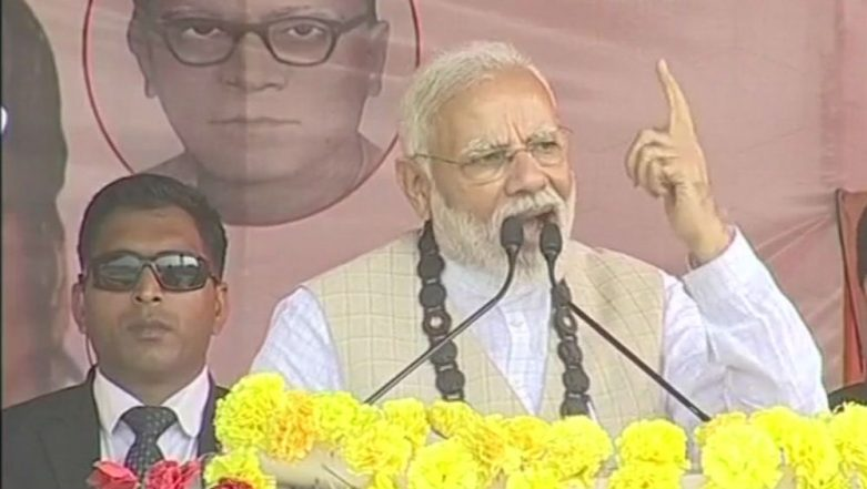 PM Narendra Modi Pitches For Citizenship Bill in West Bengal, Says 'Mamata Banerjee Scared of BJP'