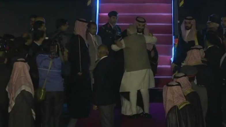 Mohammed Bin Salman, Saudi Crown Prince, Arrives in India After Pakistan Visit, Gets Warm Hug From PM Narendra Modi