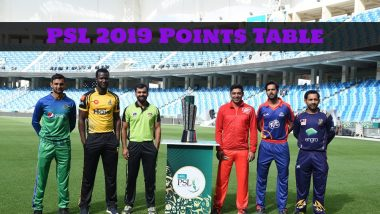 PSL 2019 Points Table: Peshawar Zalmi, Quetta Gladiators, Islamabad United and Karachi Kings Qualify for Pakistan Super League Playoffs
