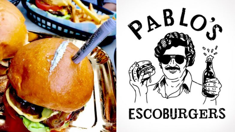 Pablo Escobar-Themed Australian Restaurant Runs Into Controversy For Serving  Burgers With Line of White Powder