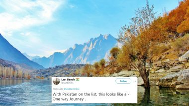 Pakistan is on The Forbes Travel List of '10 Coolest Places to Go in 2019' and India Isn't, Twitter is Divided