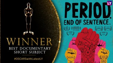 Oscars 2019: Indian Producer Guneet Monga's Period End Of Sentence Takes Home the Trophy in Best Documentary Short Subject Category