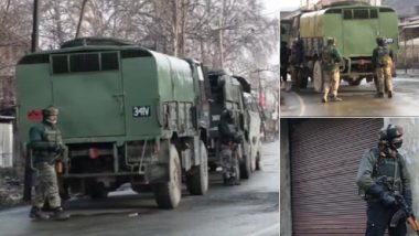 Pulwama Attack 'Mastermind' Kamran Killed in Pinglan Encounter; Terrorist Ghazi Rashid Holed Up: Reports