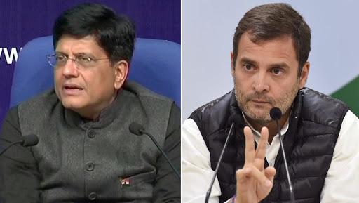 Piyush Goyal Hits Back at Rahul Gandhi For Questioning 'Make in India' Initiative on Vande Bharat Express Breakdown