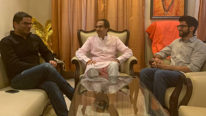 Prashant Kishor Meets Uddhav Thackeray, Shiv Sena Calls It Courtesy Meeting