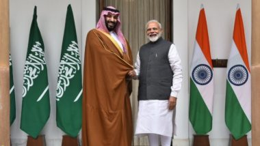 India-Saudi Arabia Joint Statement: PM Modi Gets Crown Prince Mohammed bin Salman's Backing Against Pulwama Terror Attack
