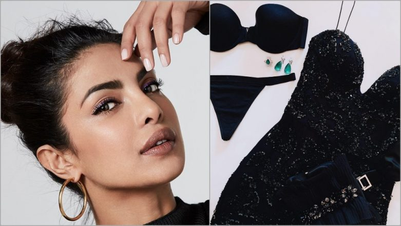 Priyanka Chopra Jonas' Oscars 2019 Outfit Leaked? Stylist Mimi Shares a Pic of 'Victoria Secret Underwear and Chopard Diamonds' to Send PC Fans Into a Tizzy