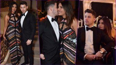 Priyanka Chopra and Nick Jonas Make Heads Turn With Their Cute PDA and Stunning Outfits (See HD Pics)