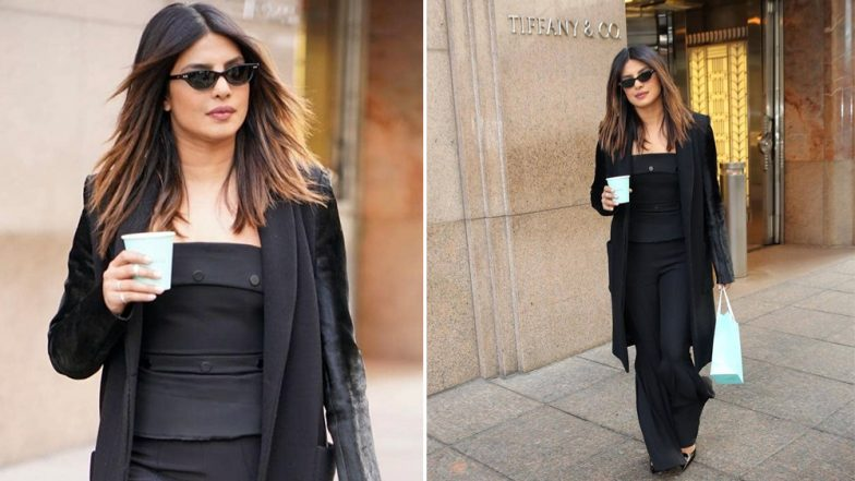 Priyanka Chopra's Love For Diamonds is Everlasting and Her Stylish Pics at NYC's Tiffany & Co are Proof!