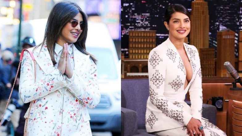 Priyanka Chopra's Pantsuit Ensembles Teach A Very Important Life Lesson; Go Big Or Go Home!