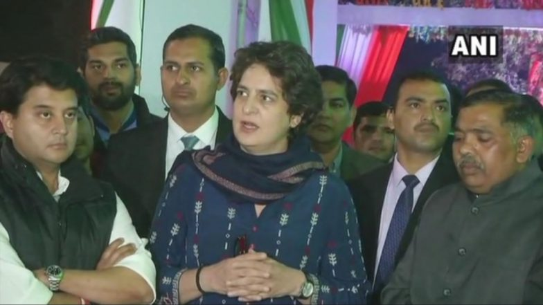 Lok Sabha Elections 2019: Congress Ties Up With Mahan Dal in UP, Priyanka Gandhi Vows to Fight With Full Force