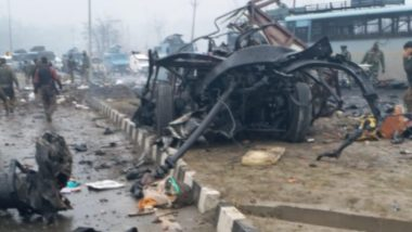 Pulwama Terror Attack: JeM Terrorist Used 80 Kg RDX, Blast Tossed a Body 80 Metres Away