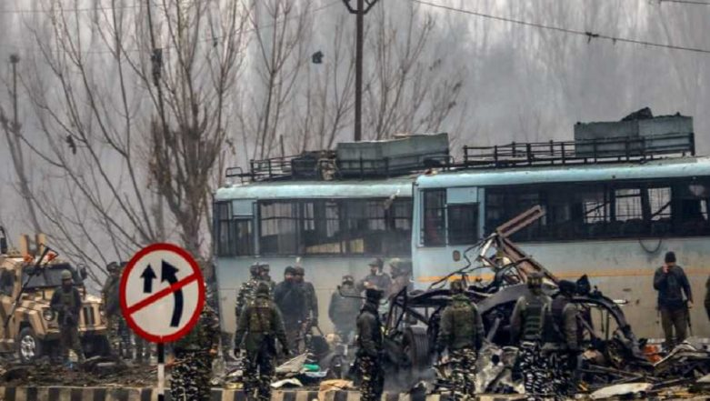 Pulwama Terror Attack: 23-Year-Old JeM Terrorist Identified As Mastermind Behind Attack in Which 40 CRPF Personnel Were Martyred