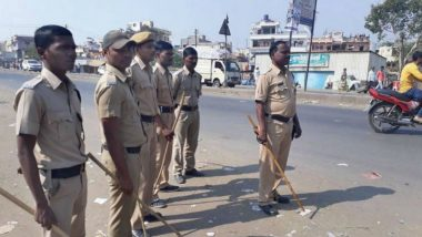 Bhopal: 11 Cops Injured in Stone Pelting by Mob Opposing Construction of Shopping Complex