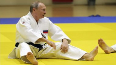 Russian Women's Olympic Judo Champ Drops Vladimir Putin on the Mat
