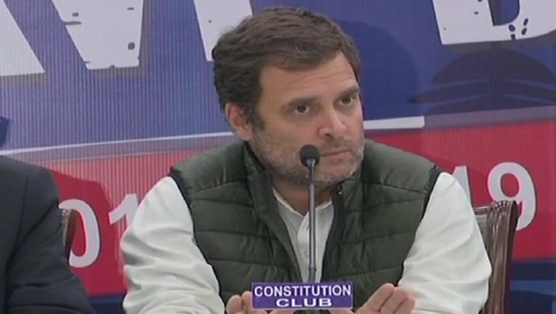 Rahul Gandhi: 'Budget 2019 a Cruel Joke on Farmers...Voters Will Launch Surgical Strikes on Modi Govt'