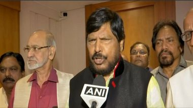 BJP, Shiv Sena Will Come Together to Form Government in Maharashtra, Amit Shah Told Me: Ramdas Athawale