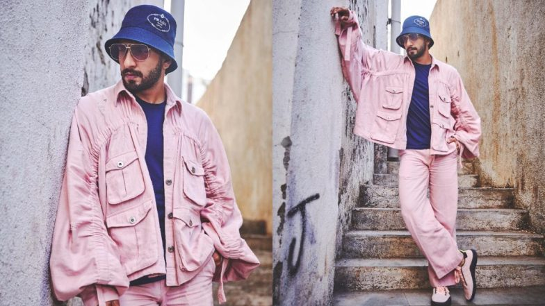 Ranveer Singh In A Bubblegum-Hued Baggy Separates For Gully Boy Promotions Is Not Basic But 'Extra' Awesome!