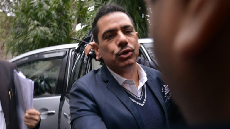Robert Vadra Called Again on Saturday to ED Office for Questioning in Money Laundering Case