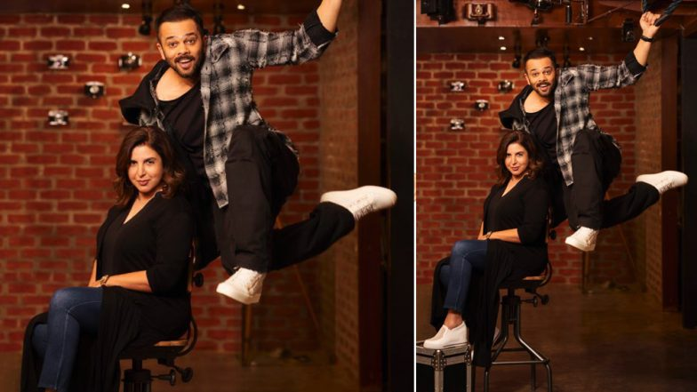 Farah Khan First Woman Director to Be Signed by Rohit Shetty Picturez for 'The Mother of All Entertainers'