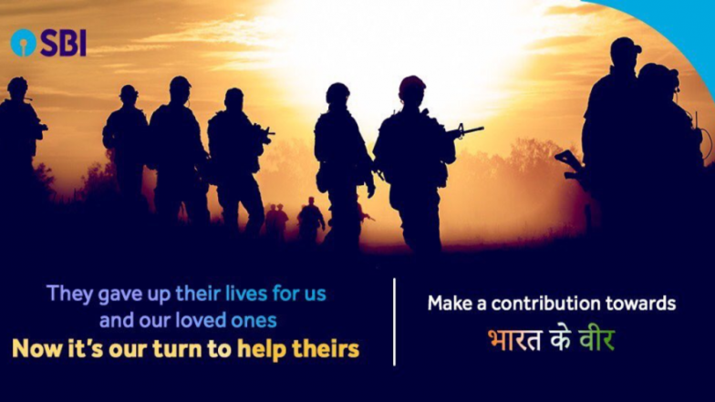 State Bank of India Enables UPI Bharatkeveer@sbi to Collect Donations for Pulwama Terror Attack Martyrs