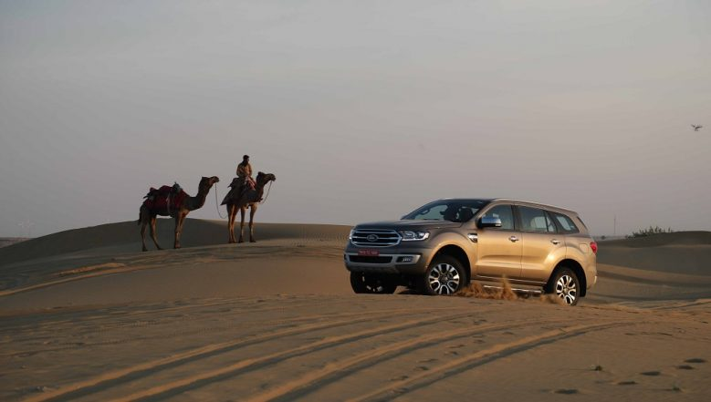 2019 Ford Endeavour Facelift SUV Launched in India; Prices Start From Rs 28.19 Lakh
