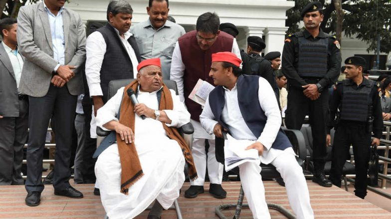 BSP-SP Alliance: Mulayam Singh Yadav Hits Out at Akhilesh, Makes an Offer Too