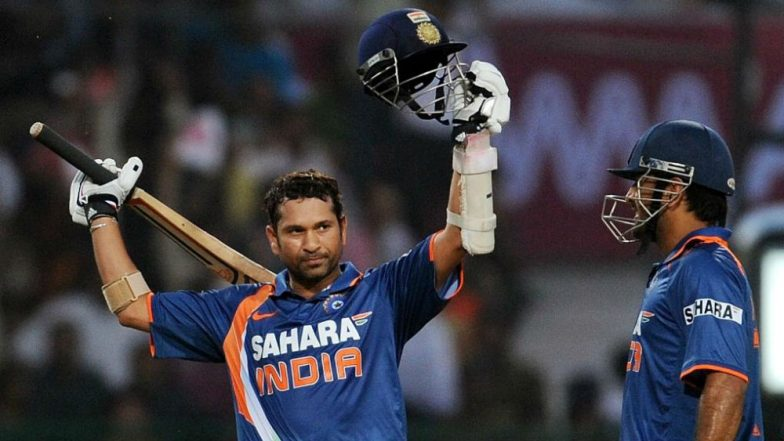 Sachin Tendulkar 200 Runs ODI Innings: 9 Years Since the Superman From India Became 1st Man on Planet to Score a Double Hundred