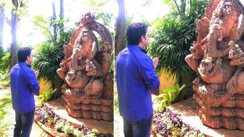 Sachin Tendulkar Wishes on Magha Ganesh Jayanti 2019, Shares Pic of Lord Ganesha on Instagram