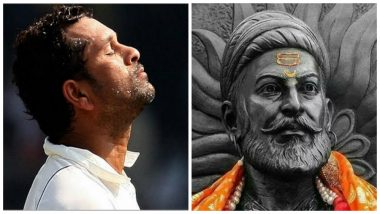 Shivaji Jayanti 2019: Sachin Tendulkar Greets Nation on Chhatrapati Shivaji Maharaj's Birth Anniversary