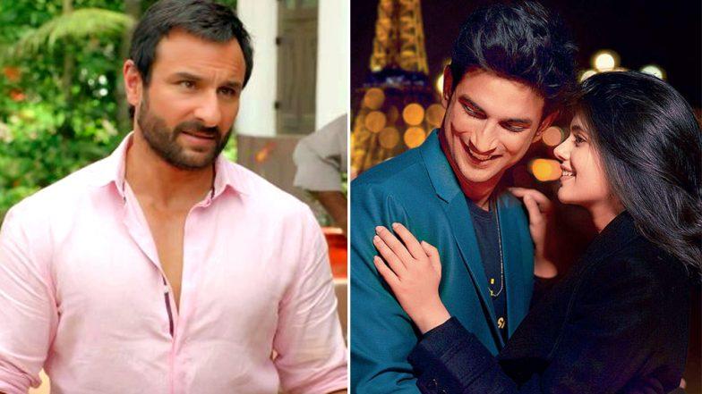 Title of Sushant Singh Rajput-Sanjana Sanghi's Movie Kizie Aur Manny Changed to 'Dil Bechara', Saif Ali Khan Joins the Cast