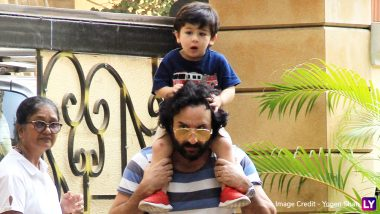 Saif Ali Khan Reveals Something Special... Really Special About Taimur!