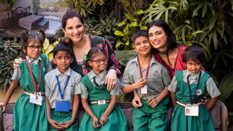 Sania Mirza, Athiya Shetty Come Together for Mana Shetty's 'Save the Children' Initiative