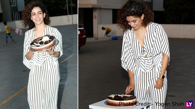 Sanya Malhotra Birthday: Photograph Actress Looks Stunning As She Celebrates Her Special Day With Media (View Pics)