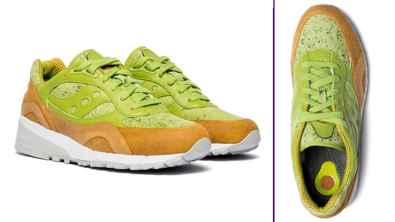 Avocado Toast-Inspired Sneaker! Saucony's New Shoes Will Suit the Foodie in You