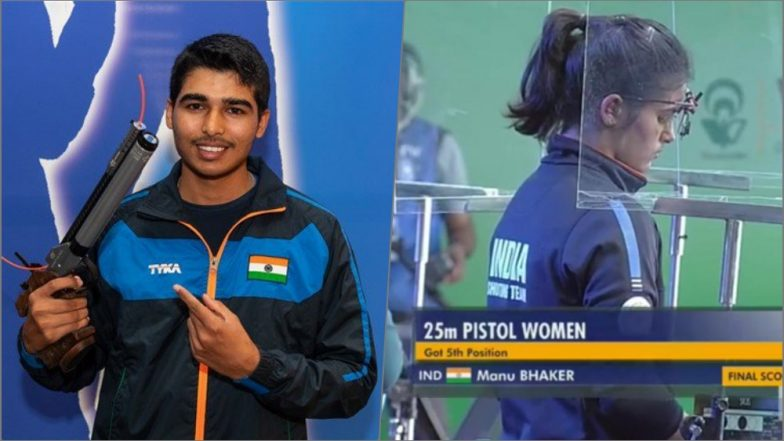 ISSF World Cup 2019: Saurabh Chaudhary, Manu Bhaker Combine to Shoot Gold in 10m Air Pistol Mixed Event