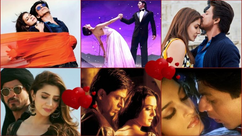 Valentine's Day 2019 Songs Featuring Shah Rukh Khan: This Romantic Playlist of Bollywood's Lover Boy Is Must Play!