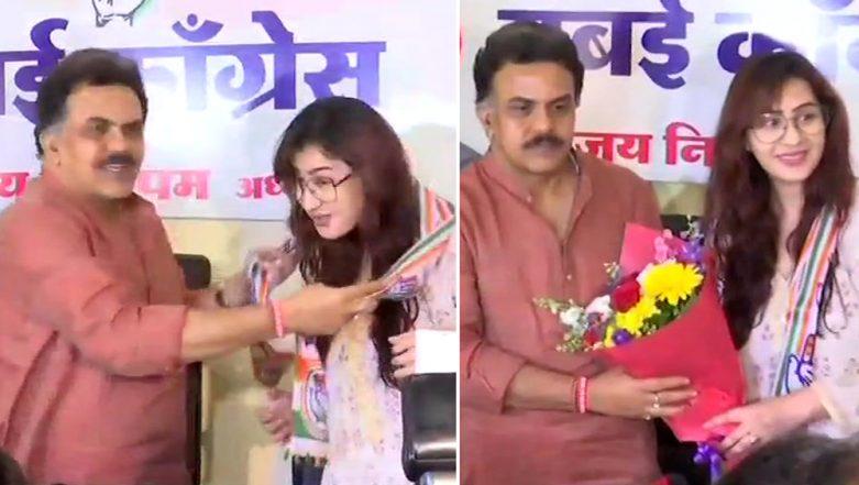 Bigg Boss Winner Shilpa Shinde Joins Congress! Bhabhiji Ghar Par Hain Actress to Start Career in Politics