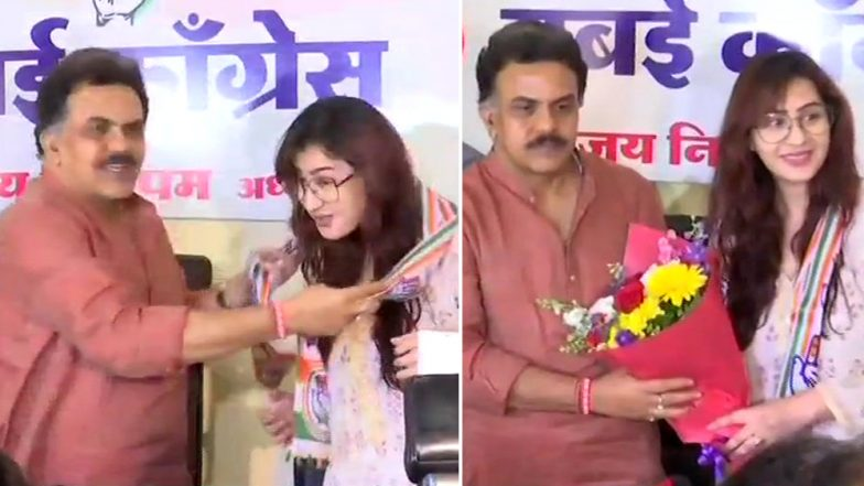 Bigg Boss Winner Shilpa Shinde Joins Congress! Bhabhiji Ghar Par Hain Actress to Start Career in Politics