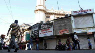 Telangana Government Eases COVID-19 Lockdown Restrictions in Hyderabad, Allows Reopening of All Shops Except in Malls