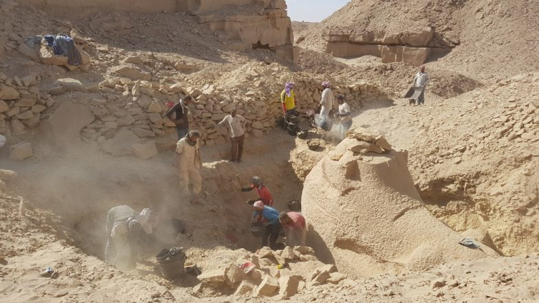Ancient Ram-Headed Sphinxes Excavated in Egypt From 3,000-Year-Old Workshop (See Pictures)